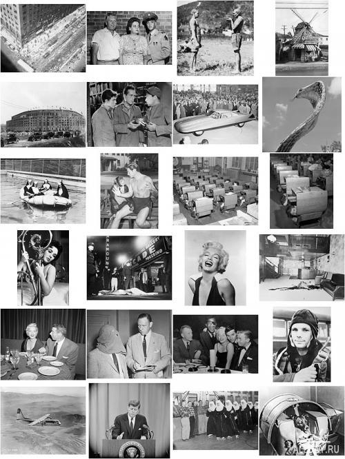 XX century in BW Photos