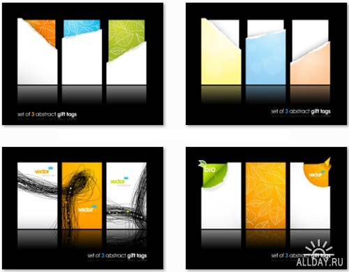 Beautiful Vector Cards Collection