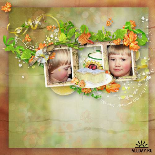 Scrap kit   I Love This Moment