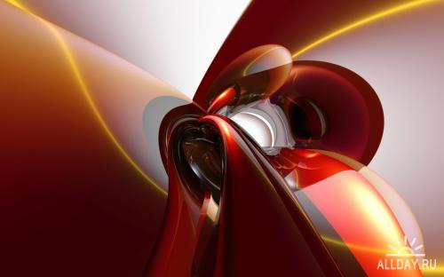 3D Abstract wallpapers.