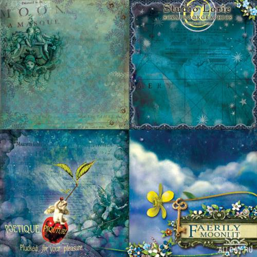 Scrap kit  Faerily Moonlit