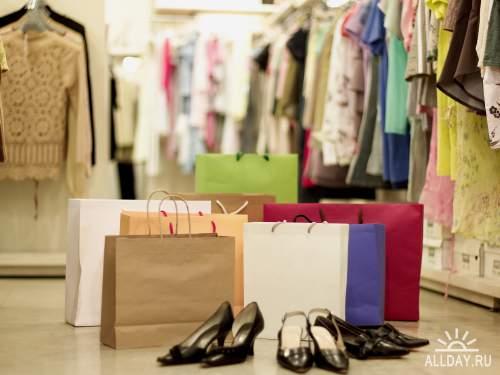 Люди, покупка, одежда, женщина, азиатка