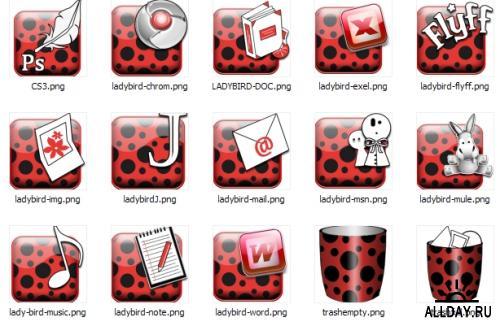Ladybird Icons