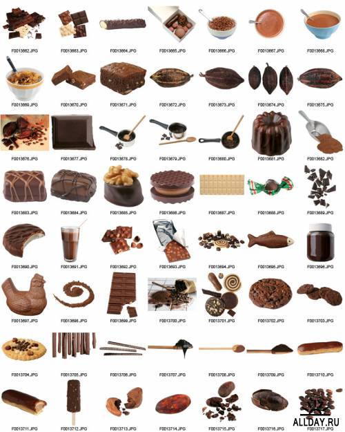 Iconotec. Object Samples. OS007 Chocolate - ШОКОЛАД