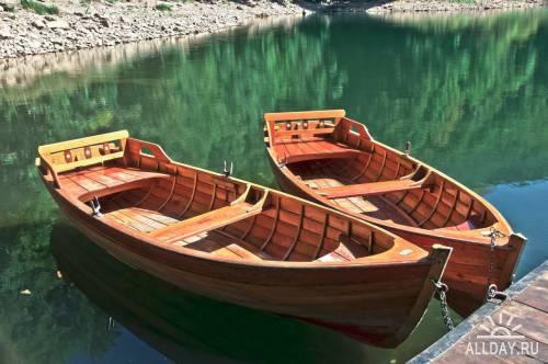 Деревянные лодки фото