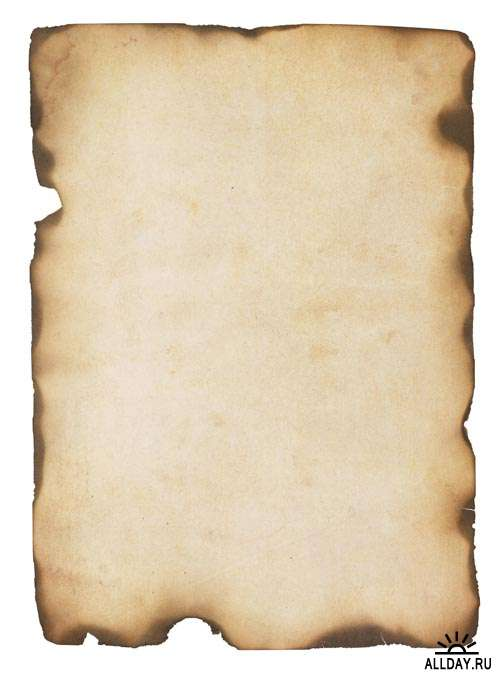 Старинная бумага #1 - Растровый клипарт