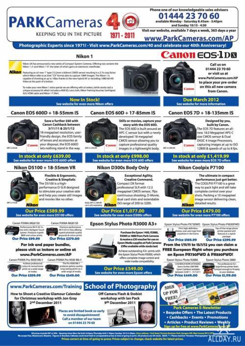 Amateur Photographer (12 ноября 2011) / UK