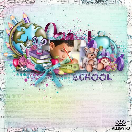 Scrap kit   Back  To  School