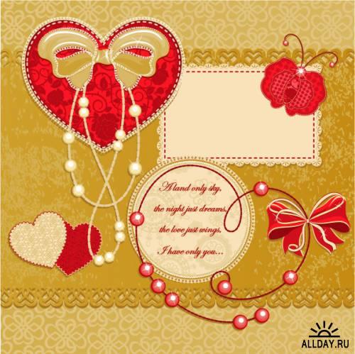 Valentine's Day scrapbooking