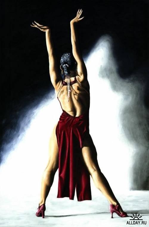 Страсть танца. Работы Richardа Youngа