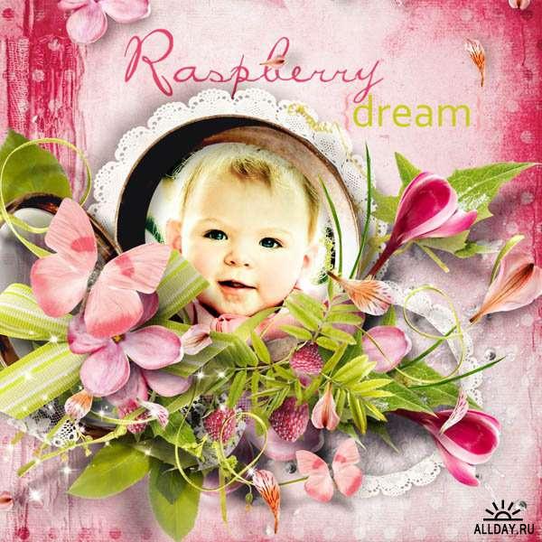 Scrap set - Raspberry dream