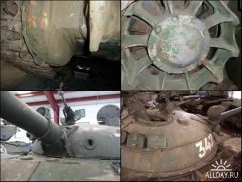 Фотообзор - советский основной боевой танк Т-62