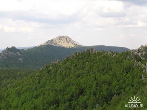 Уральские горы. Таганай летом. \ Uraliskie mountains. Taganay summer.