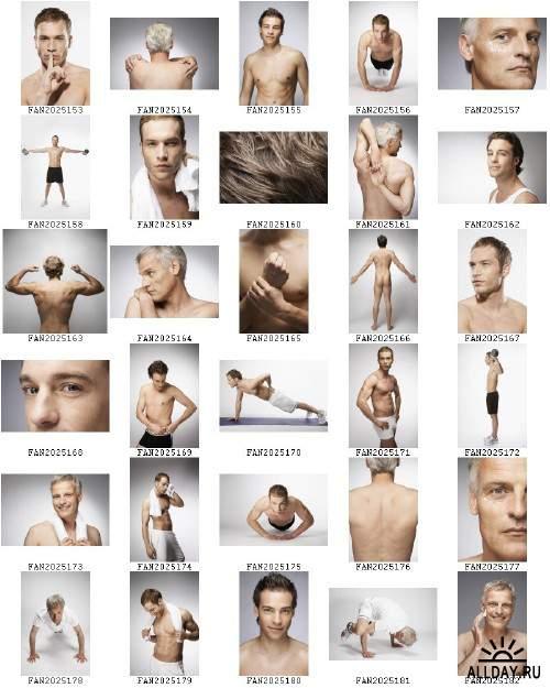 Stock foto - Healthy Men