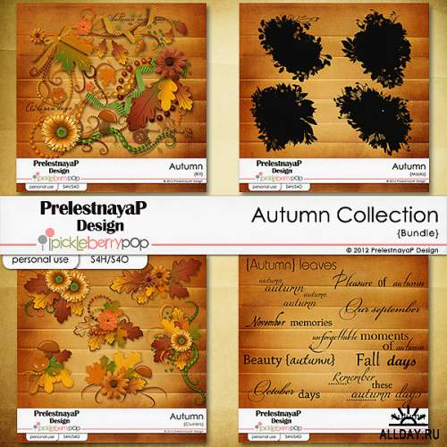 Scrap kit- Autumn