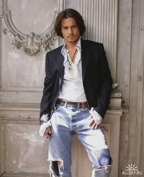 Johnny Depp - Mark Seliger photoshoot 2003