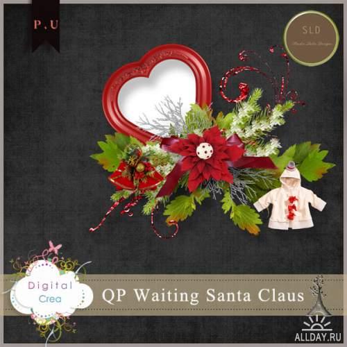 Скрап-набор Christmas Time + 2 QP