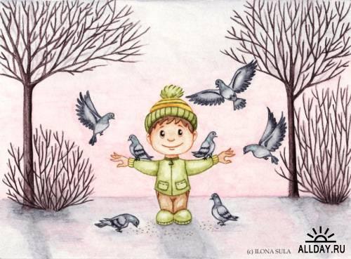 Рисунки от Ilona Sula