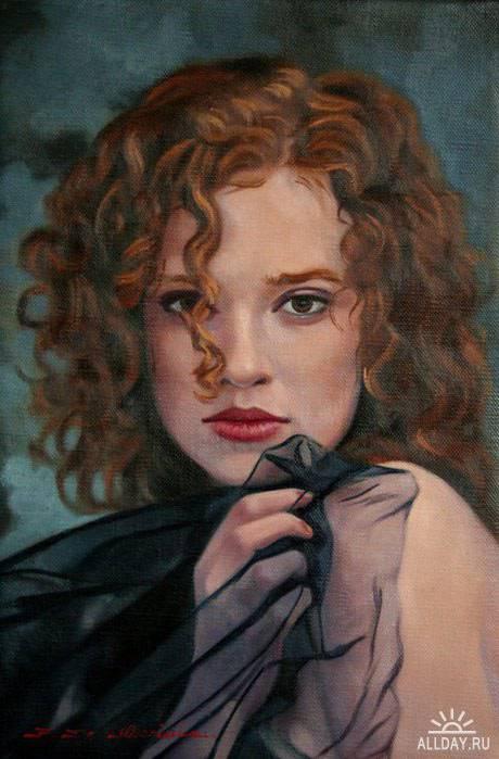 Итальянский художник Fulvio De Marinis