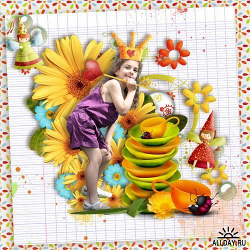 Scrap kit  Fairy Colors