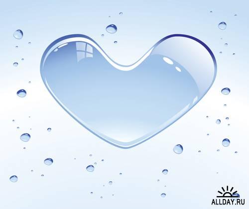 Необычные сердца в векторе | Unusual heart - Stock Vectors
