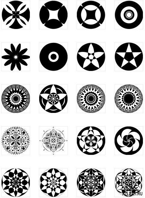 Геометрические узоры 2 \ Geometric patterns 2