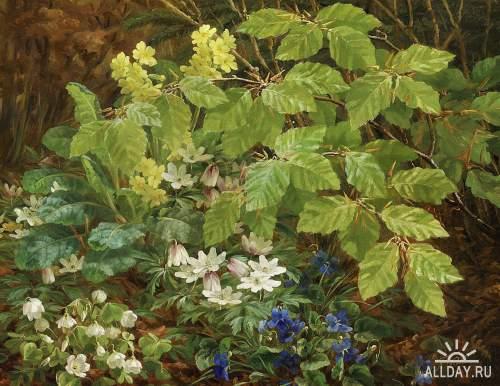 Датский художник Anthonore Christensen (1849-1926)