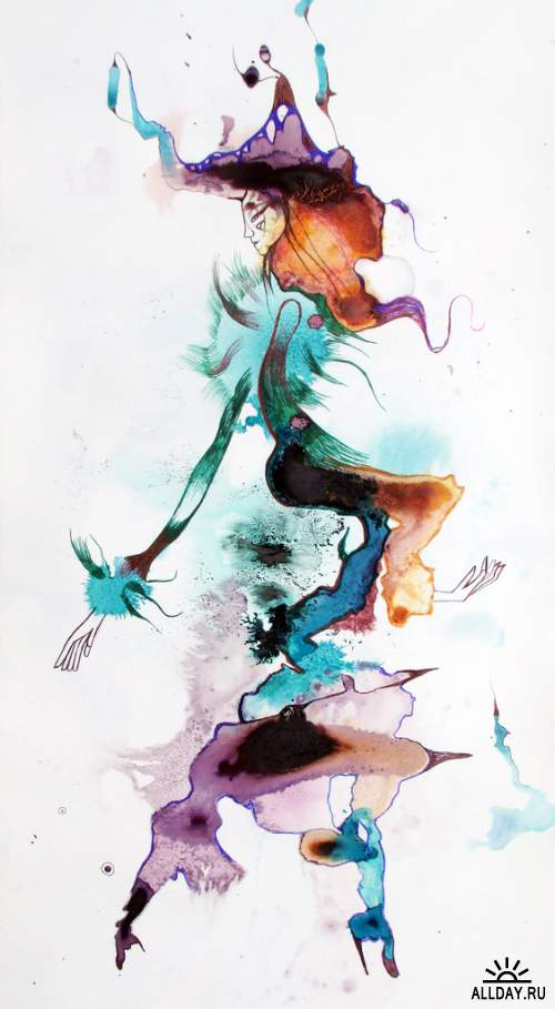 Соленые работы аргентинского художника Эстела Квадро (Estela Cuadro)