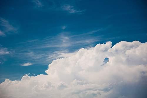 Растровый клипарт - Небо