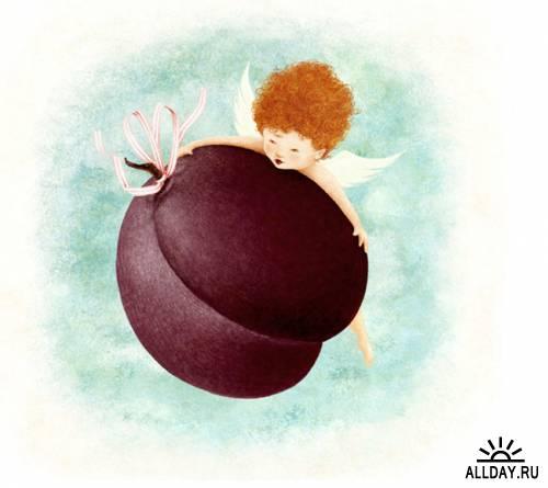 Иллюстрации от Virginia Allyn