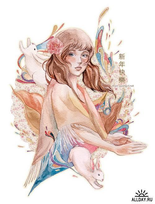 Художник Valerie Chua (green-tea)
