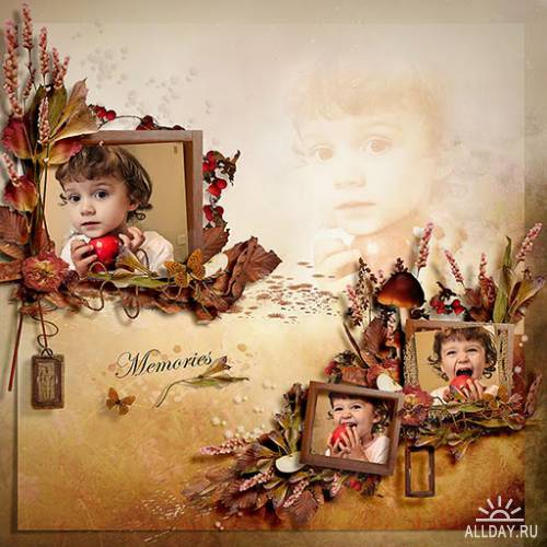 Scrap kit  Dried Nature