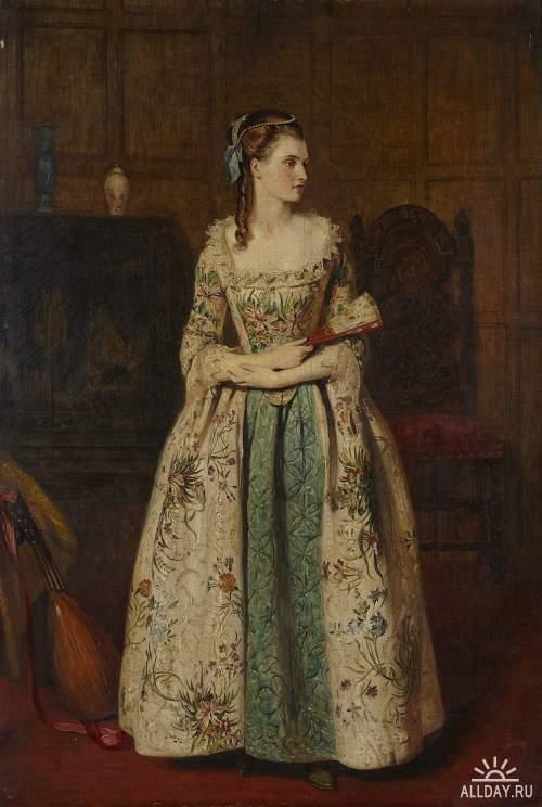Шотландский художник James Archer (1823 – 1904)