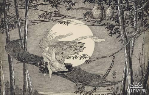 Американский художник Louis John Rhead