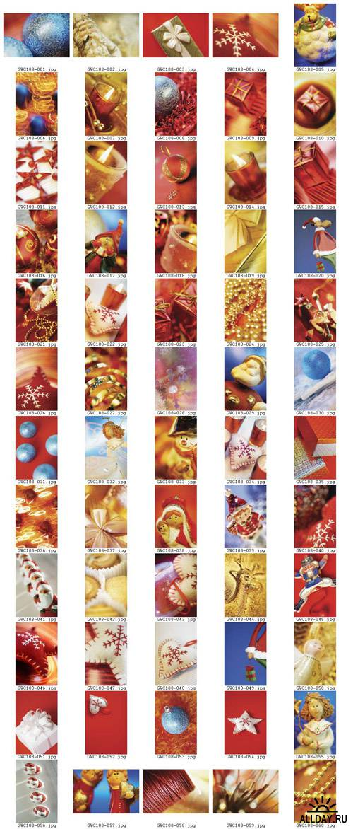 Christmas Icons - GlowImages GWC108