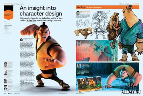Character design | 3D World 161