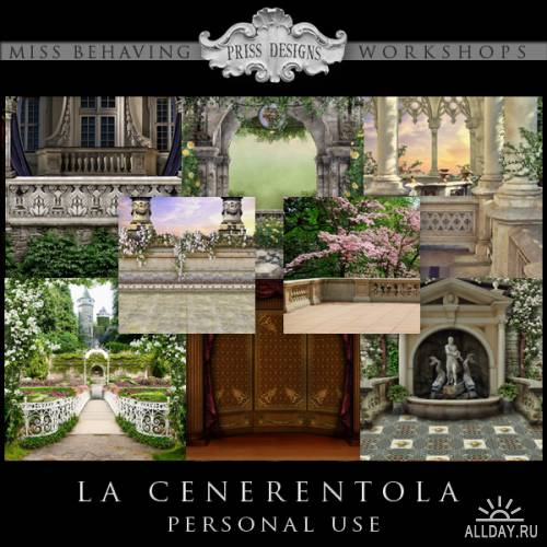 Скрап-набор La Cenerentola