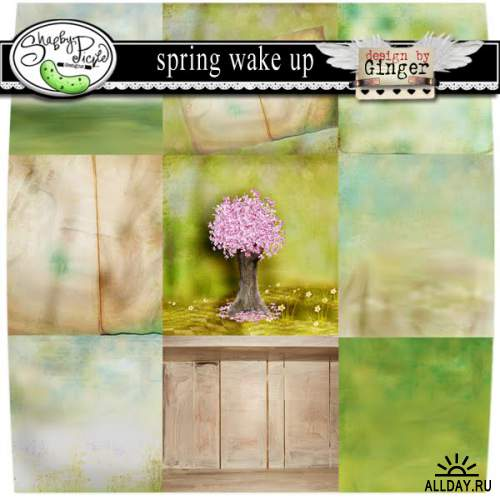 Scrap kit Spring Wake Up