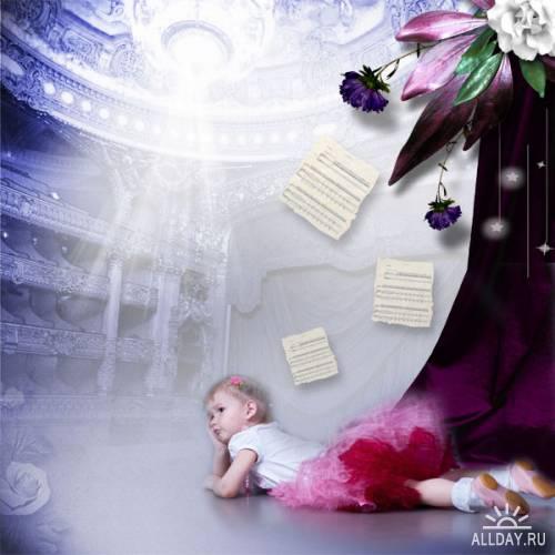 Скрап-набор - Tragedic Opera