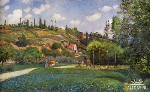 Коллекция картинок живописи Камиль Писсарро