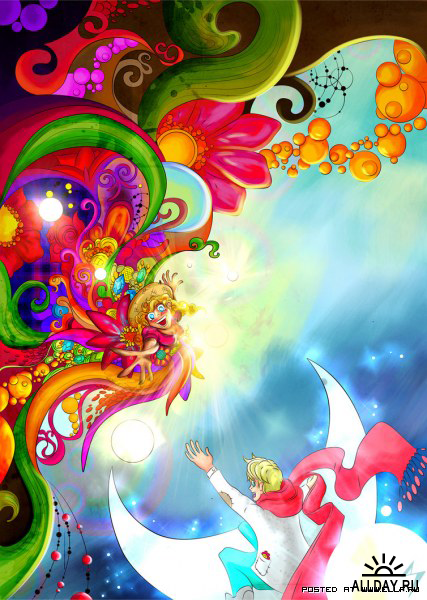 Яркие иллюстрации Рамона де Андраде Мадейра