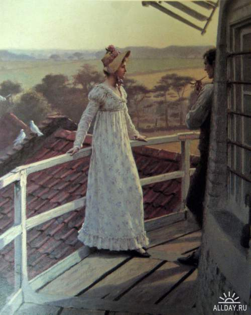 Художник Edmund Blair Leighton