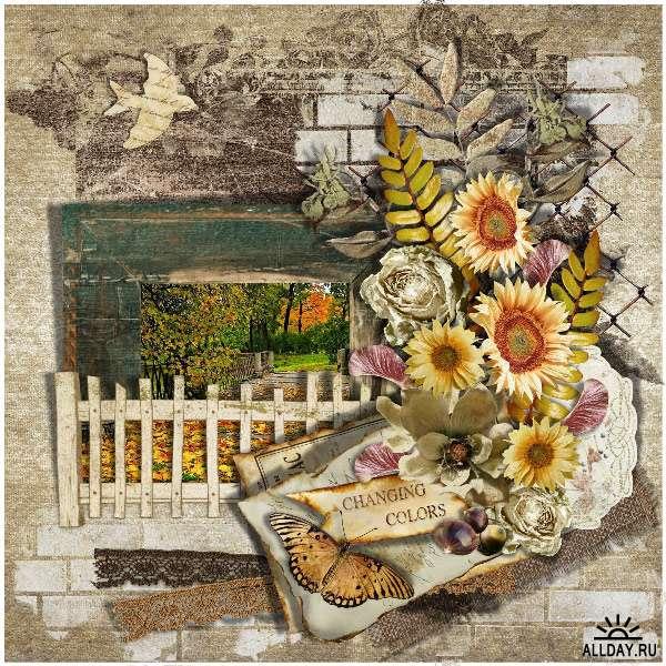 Скрап-набор Shades Of Autumn - Оттенки Осени