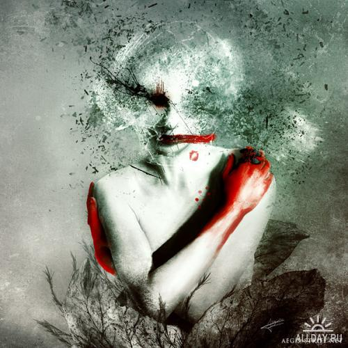 Digital Art by Mario Sanchez Nevado