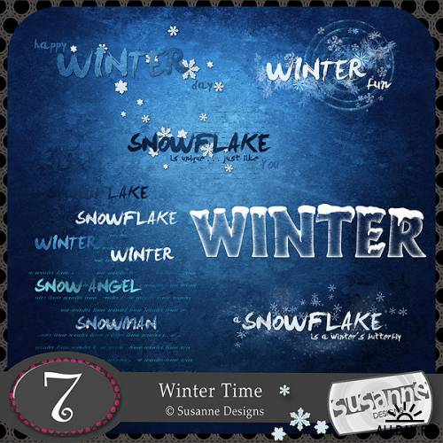 Scrap kit Winter Time