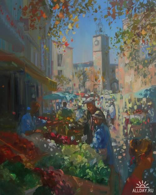 Французкий художник Laurent Parcelier