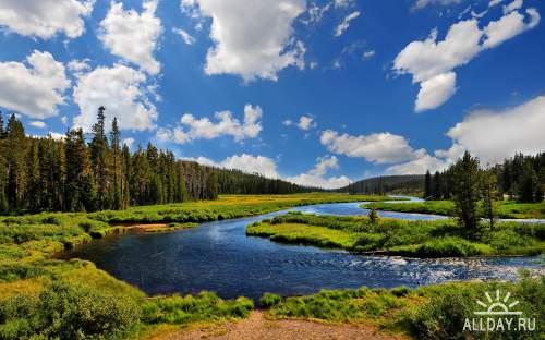 Набор фото хорошего качества с красивой природой нашей планеты