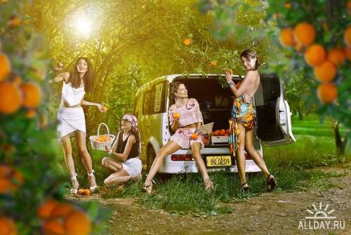 Подборка рекламных фото №29
