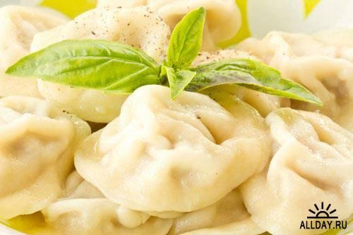 Appetizing meat dumplings | Аппетитные пельмени