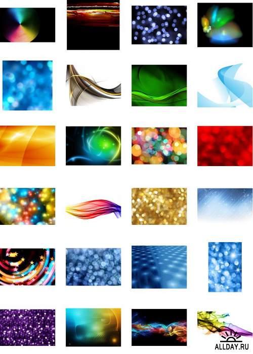 Абстрактные фоны 4 / Abstract Backgrounds 4 [JPEG]